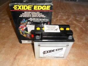 motorcycle battery exide edge ny ebay