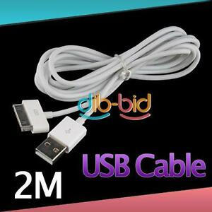2M-6FT-30Pin-Data-Sync-Charge-Cable-4-Pad-2-Gen-Phone-Chargers-ER