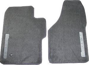 New-Ford-F-Series-F250-F-250-F-350-OEM-Floor-Mats-Gray-Front-98-10-Regular-Cab