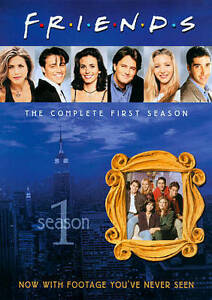 Friends-The-Complete-First-Season-DVD-2010-4-Disc-Set-DISCS-ONLY