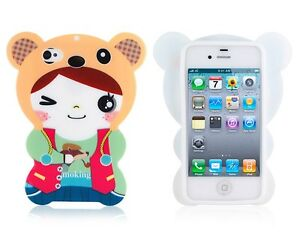 3D-Cartoon-Lovely-Bear-Girl-TPU-Protective-Case-Cover-for-iPhone-4-4S-4GS-4G