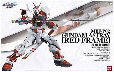 PG 011 MBF-P02 GUNDAM ASTRAY RED FRAME SEED 1/60 Plastic Model Kit BANDAI NIB