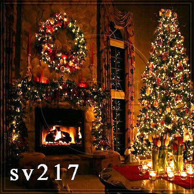 XMAS 10x10 FT CP (COMPUTER PRINTED) PHOTO SCENIC BACKGROUND BACKDROP Sv217