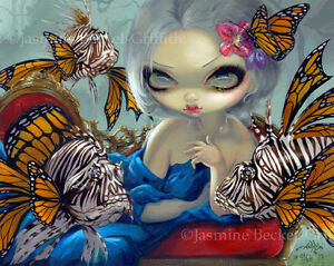 Poissons-Volants-Lionfish-Jasmine-Becket-Griffith-CANVAS-PRINT-Rococo-gothic-art