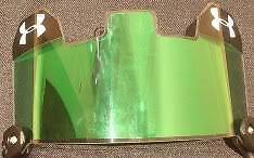 Green-INSERT-for-Under-Armour-Football-Visor-Eyeshield
