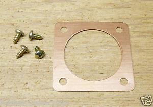 """1 9//16/"""" Copper Portal for Western Bluebird Houses and Nest Box Entry 1.563/"""""""