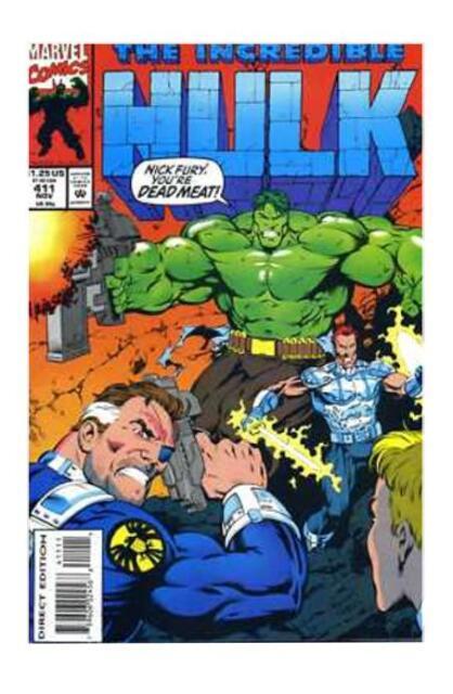 The Incredible Hulk #411 (Nov 1993, Marvel)