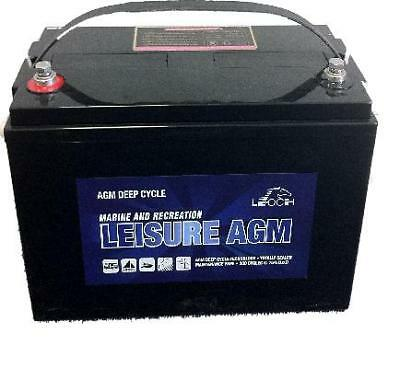 12V SEALED 85 AH AGM LEISURE BATTERY