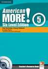 American More! Six-Level Edition Level 5 Teacher's Resource Book with Testbuilder CD-ROM/Audio CD by Julie Penn, Cheryl Pelteret, Rob Nicholas (Mixed media product, 2011)
