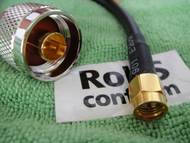 N-Type Male to SMA Male Pigtail RG58 50ohm Wireless WLAN Jumper Cable 20cm BN16A