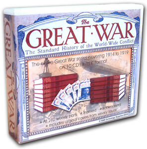 The-Great-War-Magazine-The-Standard-History-of-the-World-Wide-Conflict-WW1