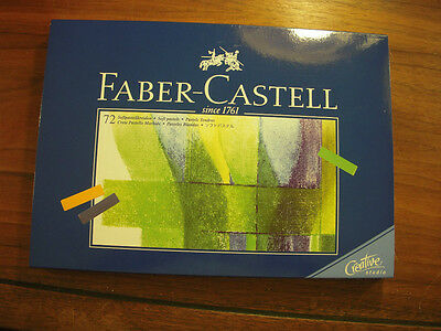 NEW Faber-Castell 72 Soft Pastel Set