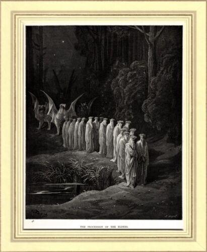 PURGATORIO: 24 VECCHI: ANTICO TESTAMENTO.Gustavo Doré.Dante.Divina Commedia.1890