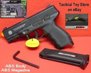 U-co2-TAURUS-24-7-247-24-7-Fixed-Slide-ABS-Body-amp-Magazine-Airsoft-Pistol-380fps