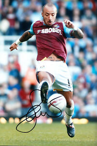 West-Ham-United-F-C-Julien-Faubert-Hand-Signed-11-12-Photo-12x8-2