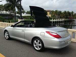 Image Is Loading Toyota Solara Convertible Top Black Stayfast Cloth Gl
