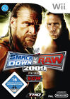 WWE SmackDown vs. Raw 2009 (Nintendo Wii, 2008, DVD-Box)