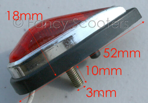 in red color 12V Pocket Bike Rear Turn Signal