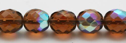 10 Stück Facettierte Glasperlen Carolina Texas Rig alle Grössen viele Farben Bleie