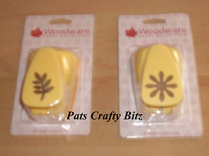 Woodware-Big-Yellow-Punch-3-8cm-1-5-034-Various-Designs