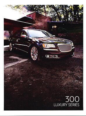 2010 2011 Chrysler Luxury Series Original Sales Brochure Folder
