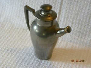 Antique Old English Genuine Pewter Flagon
