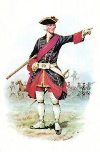 1772-OFFICER-ROYAL-REGIMENT-of-ARTILLERY-ART-POSTCARD