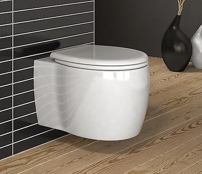 Imola Luxus Wand-Hänge WC/Toilette mit SoftClose Sitz Raumwunder