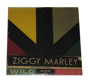 ZIGGY-MARLEY-WILD-AND-FREE-12-034-VINYL-LP-SEALED-amp-MINT-RECORD