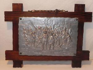Zinnbild-Zinn-Bild-Wandbild-Holzrahmen-Rembrand-kop-Mueller
