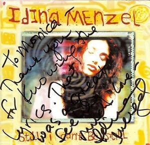 Idina-Menzel-SIGNED-Still-I-Cant-Be-Still-Debut-CD-Rent-Wicked-I-Stand-COA