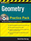 CliffsNotes Geometry Practice Pack: Practice Pack by David Alan Herzog (Paperback, 2010)