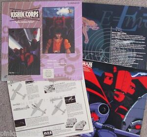 KISHIN-CORPS-vol-4-Active-Defense-Forces-Anime-with-3-12-x24-Insert-Laserdisc