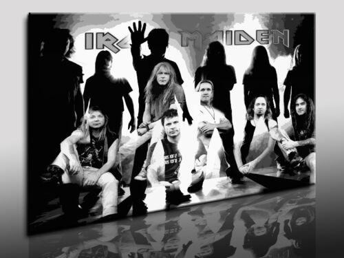 Kunstdrucke Wandbild Leinwandruck Bild auf Leinwand Iron Maiden Fotoleinwand