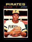 1971 Topps Bob Veale Pittsburgh Pirates #368 Baseball Card
