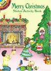 Merry Christmas Sticker Activity Book by Marty Noble (Paperback, 2000)