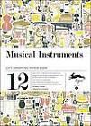 Musical Instruments: Gift & Creative Paper Book Vol. 08 by Pepin Van Roojen (Paperback, 2012)