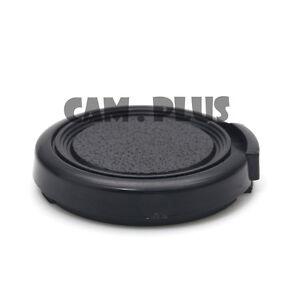 2x-34mm-Side-Pinch-Front-Lens-Cap-For-Filter-DC-Digital-Video-Camera