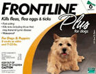 Merial Frontline Plus 6 Pack For Dogs Under 22 lb