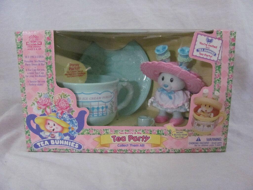 Nuevo Kidsview Te Conejitos Té Vintage Juguete Bunny & Me  Pensamiento Parfait