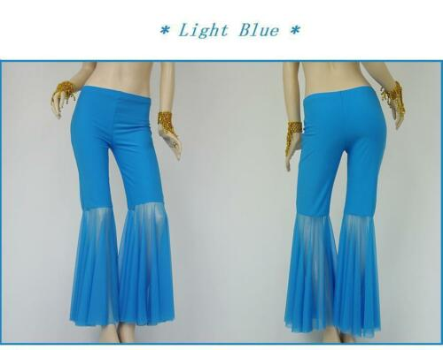 Tribal Belly Dance Costume Flared Pants 9 Colors