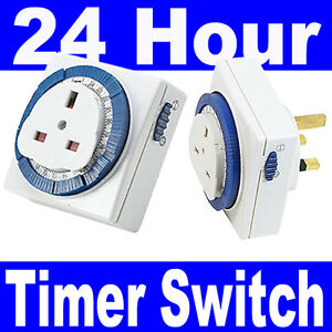 3-Pin-UK-24HR-24-Hour-Timer-Programmable-Mains-Wall-Home-Socket-Plug-IN-Switch