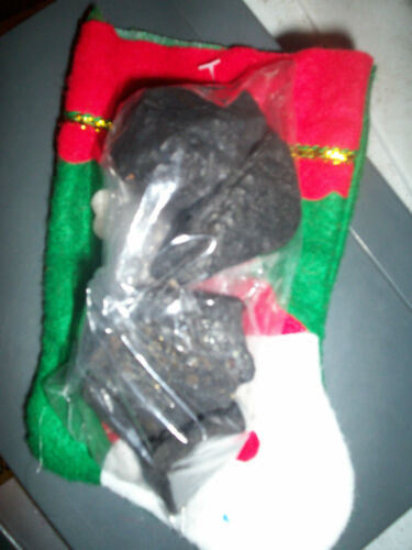 """7/"""" Felt Appliqued Christmas Stocking Sm Buy em with or without Coal 7 styles"""