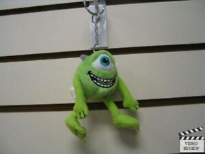 Mike-Monster-039-s-Inc-Plush-Keychain-Metal-Key-Ring