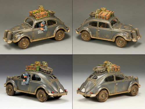 KING AND COUNTRY WW2 Volkswagen Beetle LW43 LW043