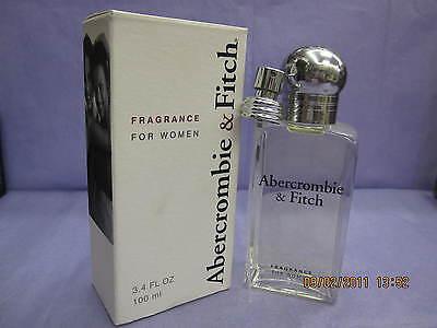 ABERCROMBIE & FITCH SIGNATURE WOMEN 3.4 FL oz / 100 ML Perfume Spray New In Box