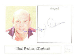 NIGEL-REDMAN-ENGLAND-AUTOGRAPH-RUGBY-PHOTO-CARD-SIGNED