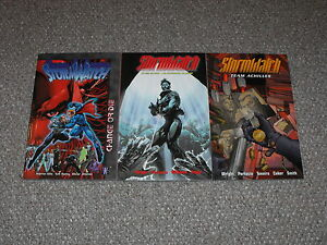 Stormwatch-Change-or-Die-amp-Team-Achilles-Vol-1-amp-2-TPB-Graphic-Novel-Lot