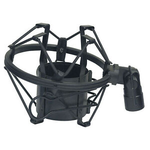 ANTI-SHOCK-MOUNT-HEAVY-DUTY-METAL-SHOCKMOUNT-MIC-MICROPHONE-CRADLE-FOR-RODE