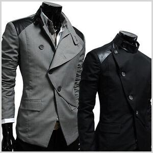 HBJ-TheLees-Unique-Mens-unbalance-rider-style-button-blazer-jacket
